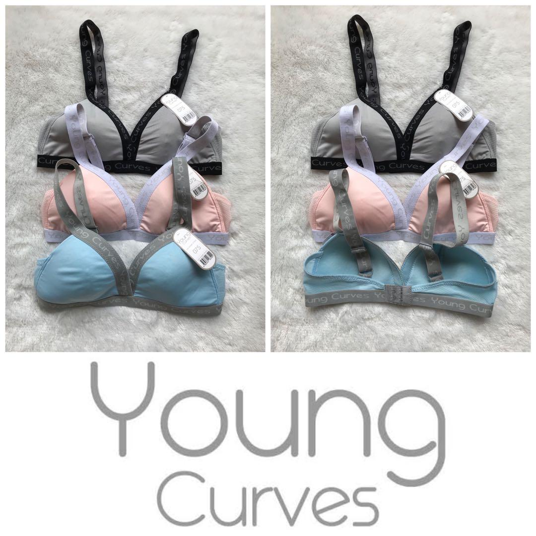 Youngcurves by younghearts sport br tanpa kawat original