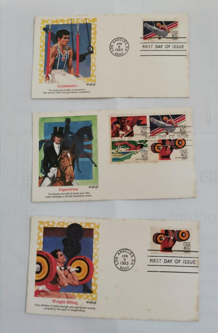 Vintage 1984 Olympics Women/'s Basketball First Day Cover
