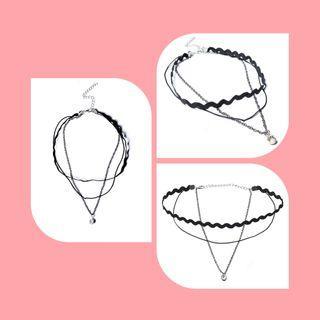 暗黑個性頸鏈項鍊🖤(買衣服可送!)