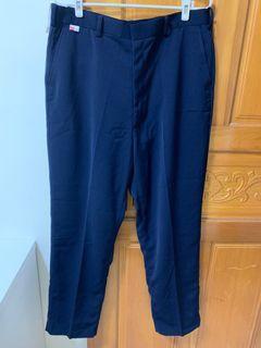 全新 百力標準學生服  深藍色制服長褲 西裝長褲 大尺碼學生褲#WATER