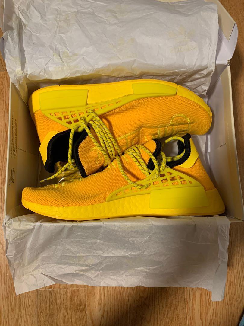 Adidas human race eye yellow