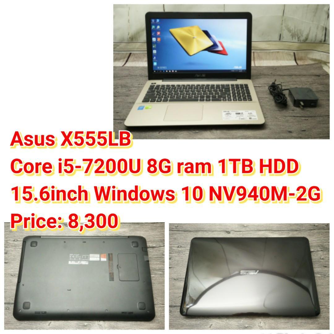 Asus X555LB Core i5-7200U