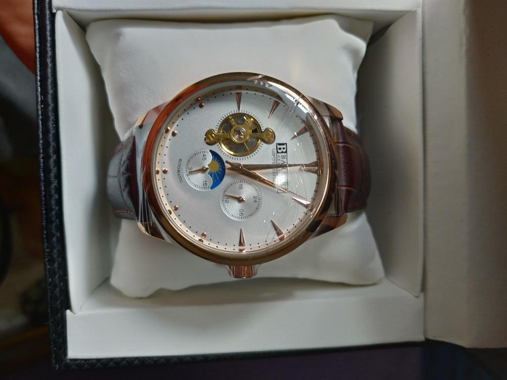 Barkers of Kensington Automatic Rose Limited Edition Watch