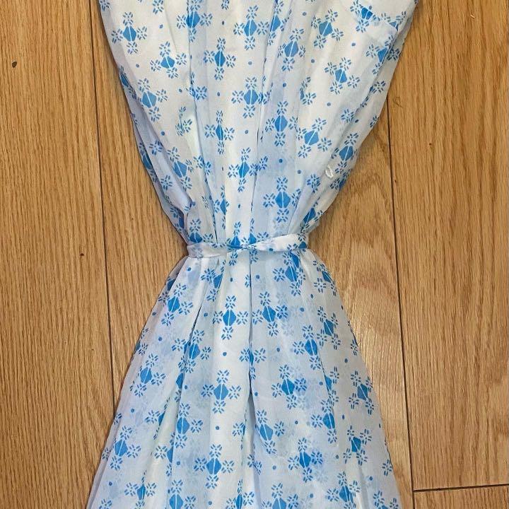 Blue/white dress size xs
