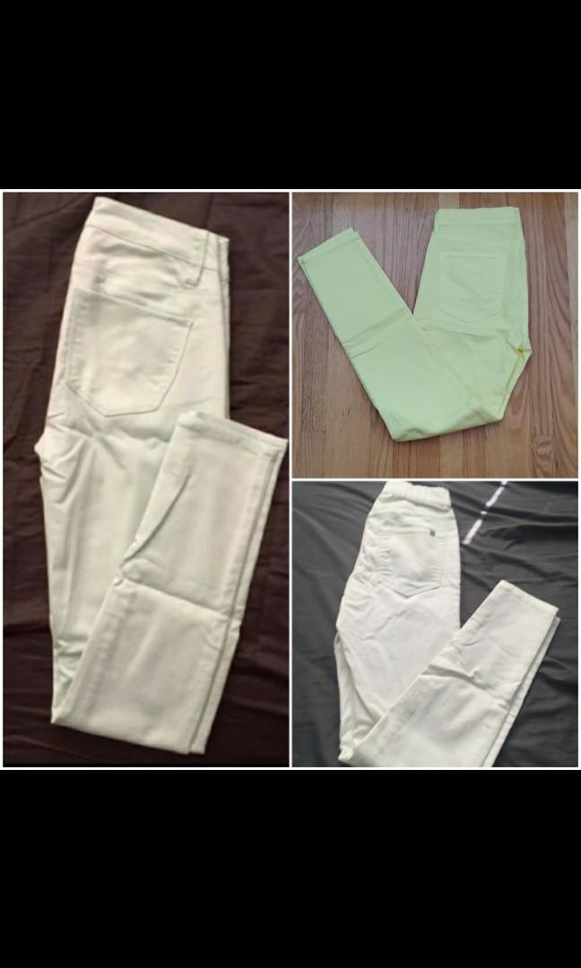 [BUNDLE] coloured jeans
