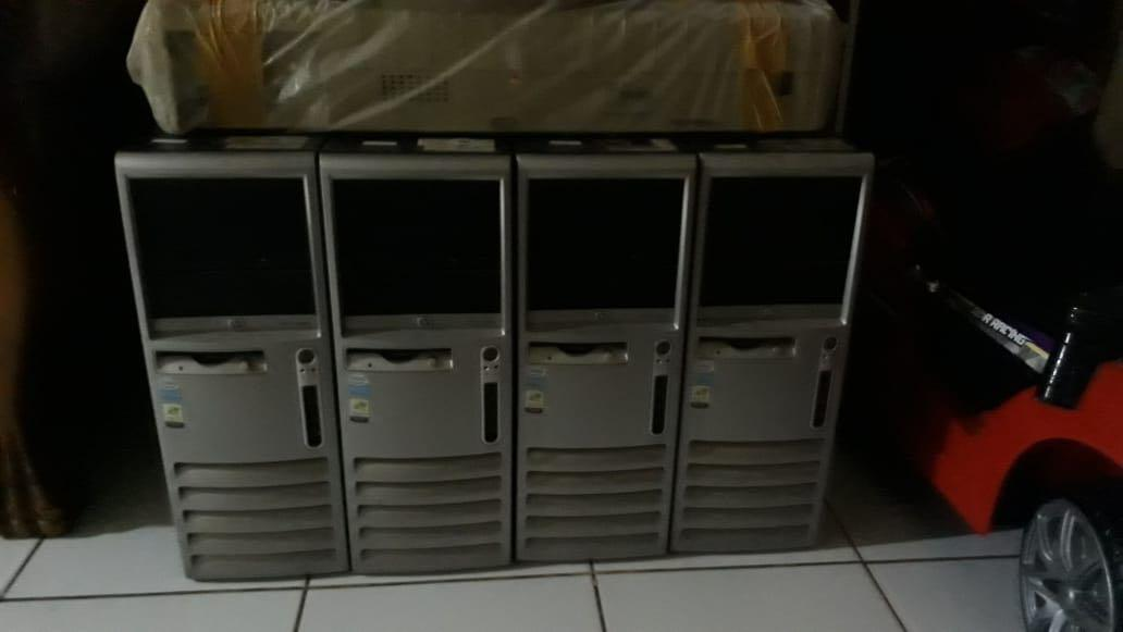 Cpu monitor dan printer