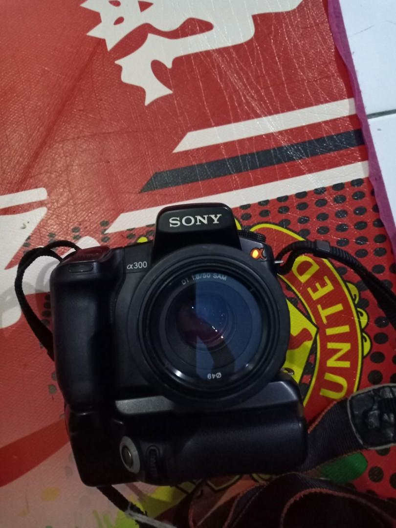 Dijual Sony Alpha A300