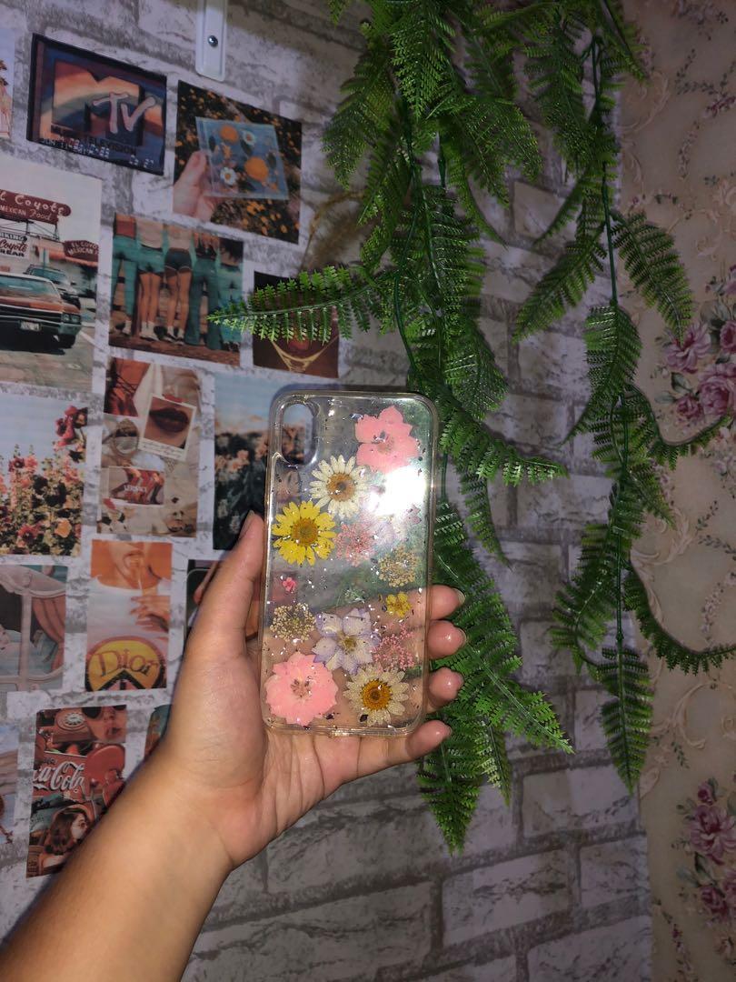 Dry Flower Aesthetic Case