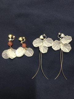 耳環(耳夾)earrings