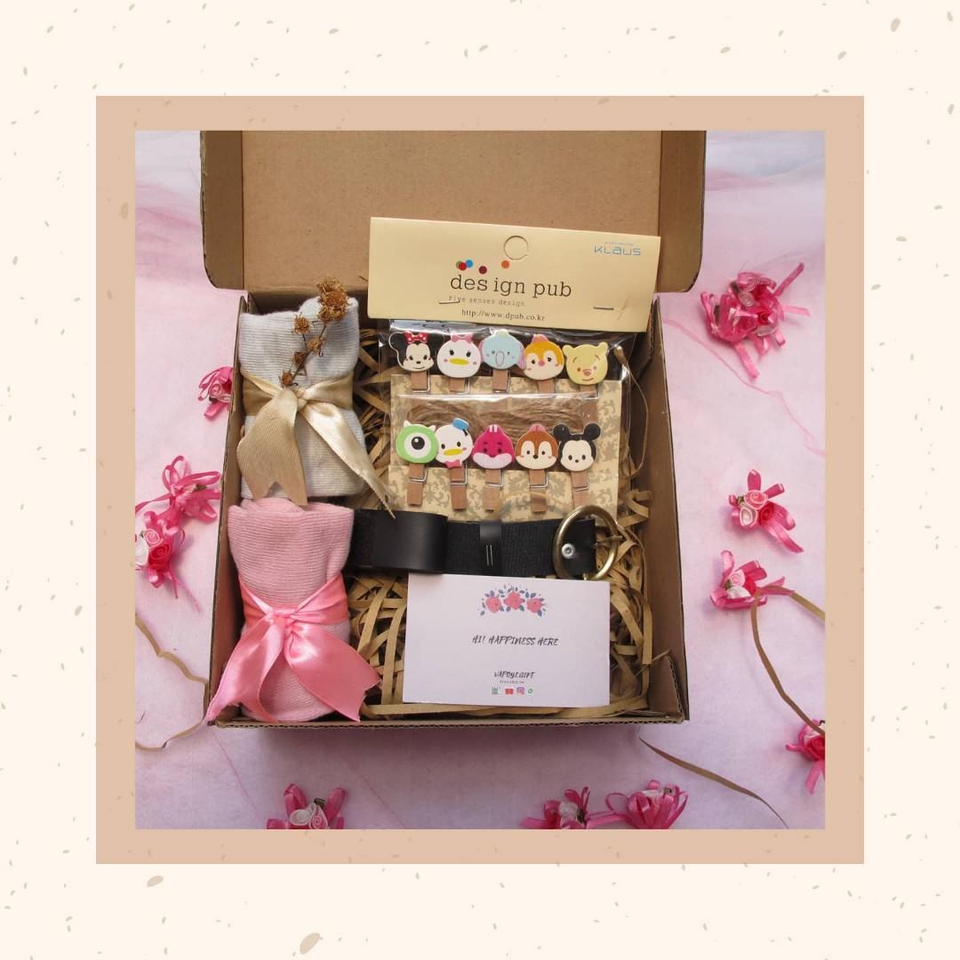Gift set / hampers kado ulang tahun atau anniversary