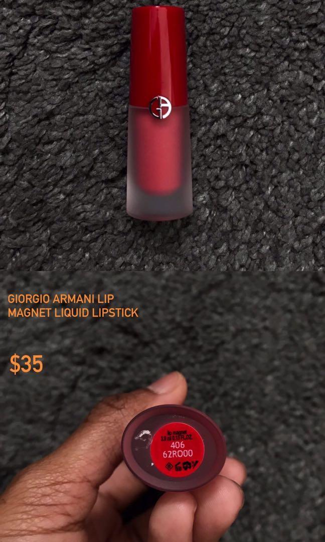 Giorgio Armani Liquid Lipstick