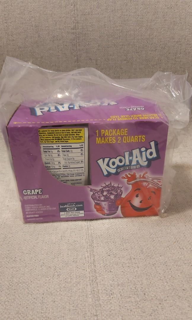 Grape Kool Aid Drink Mix (Powder) Pack of 48