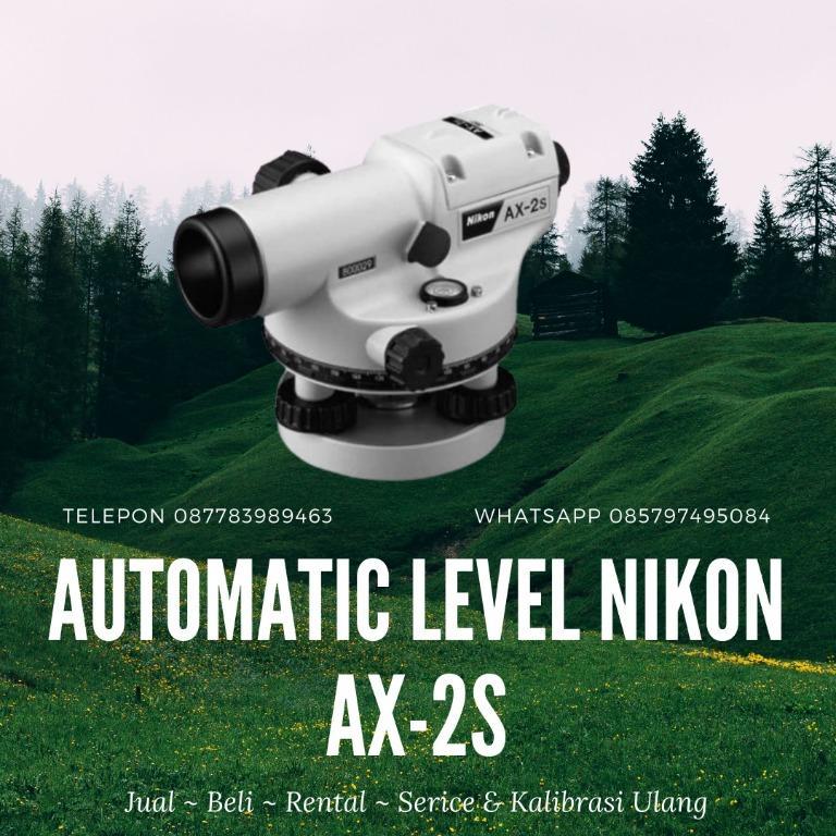 Jual Automatic Level Nikon Ax-2S Spesifikais - 087783989463