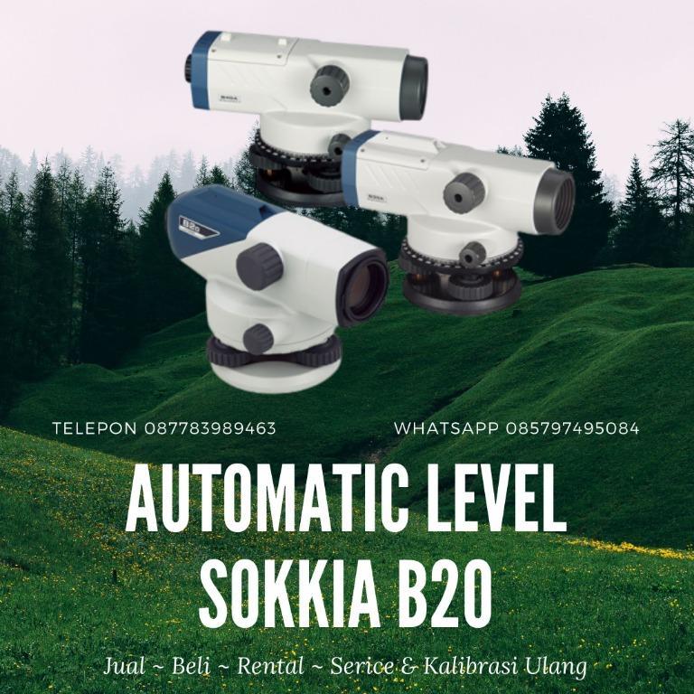 Jual Automatic Level Sokkia B20 / 087783989463