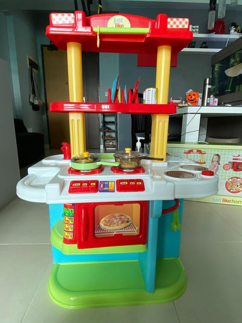 Just Like Home Giant Kitchen Centre Playset Hobbies Toys Toys Games On Carousell