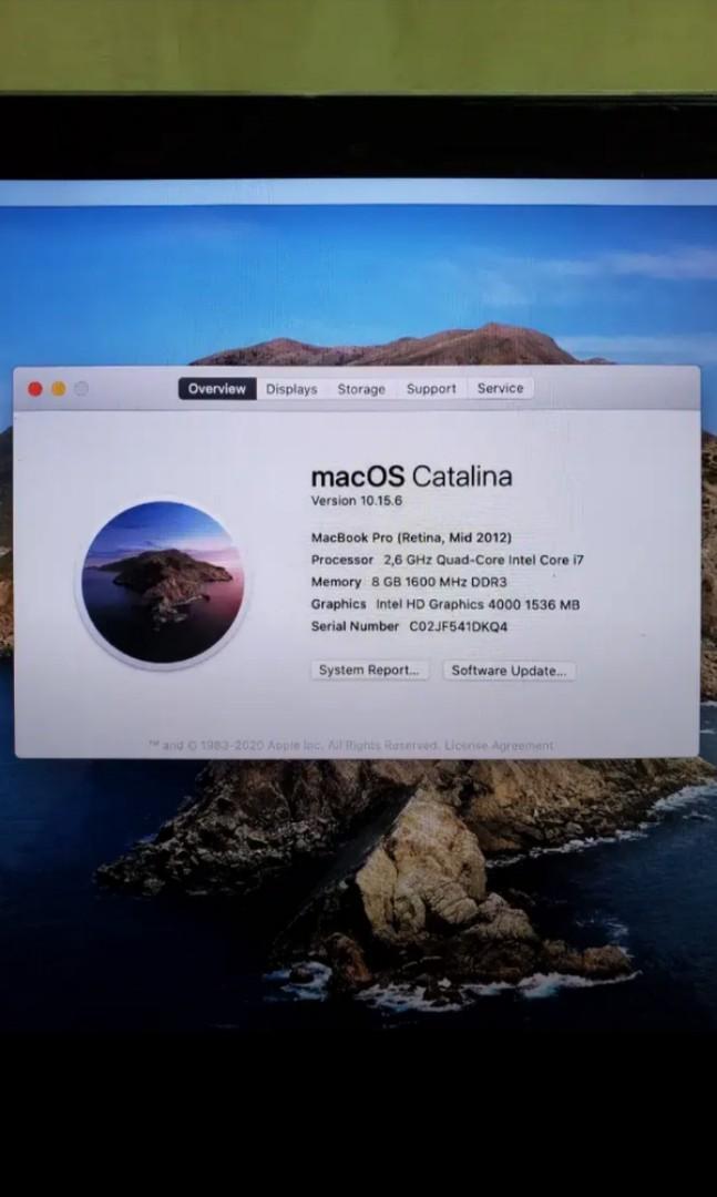 "Macbook retina 15"" 2012. Core i7"