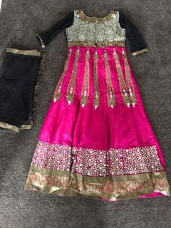 Mirror work Indian outfit