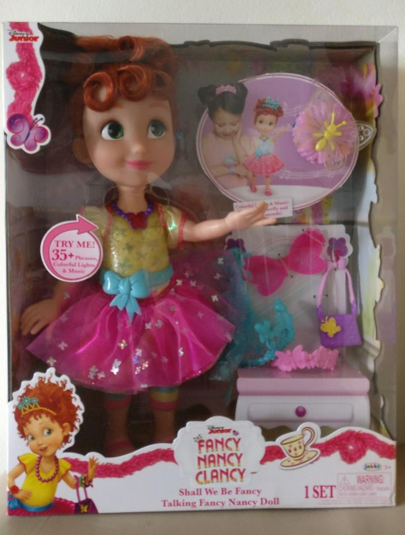 New Big Fancy Nancy Clancy Shall We Be Fancy Talking Fancy Nancy Doll Babies Kids Toys Walkers On Carousell