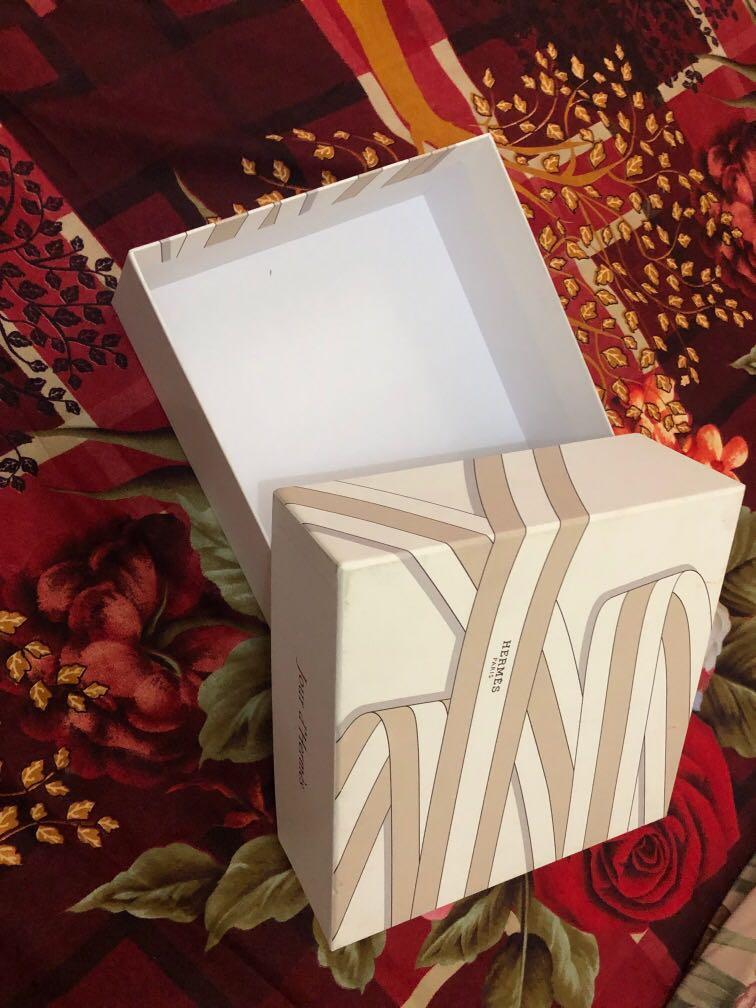 Original Box hermes untuk parfum hand body dan sabun mandi