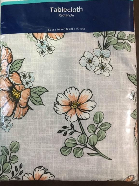 Rectangle Tablecloth (Size 52'' x 70'')