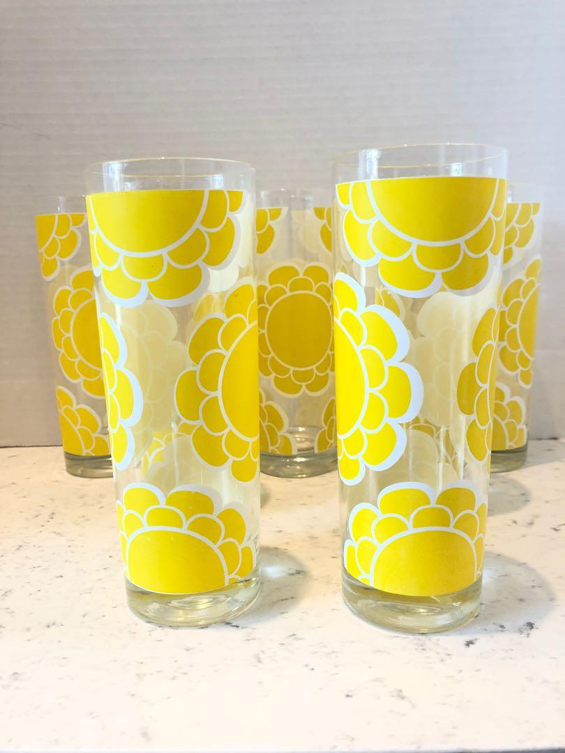 Retro 70s Colony Tom Collins/Ice Tea Glasses