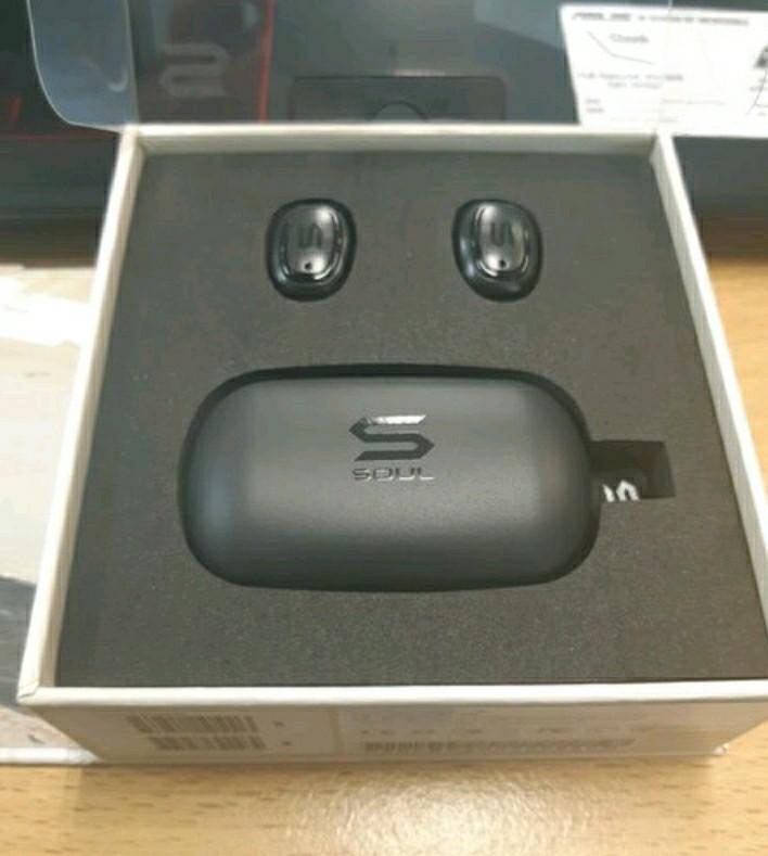 (SEGEL) SOUL S-GEAR True Wireless Earphones Waterproof Bluetooth - Black