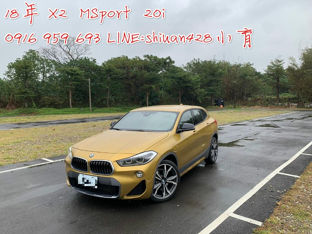 《《 2018/19年 BMW X2 MSport x 20i  2.0cc 》》