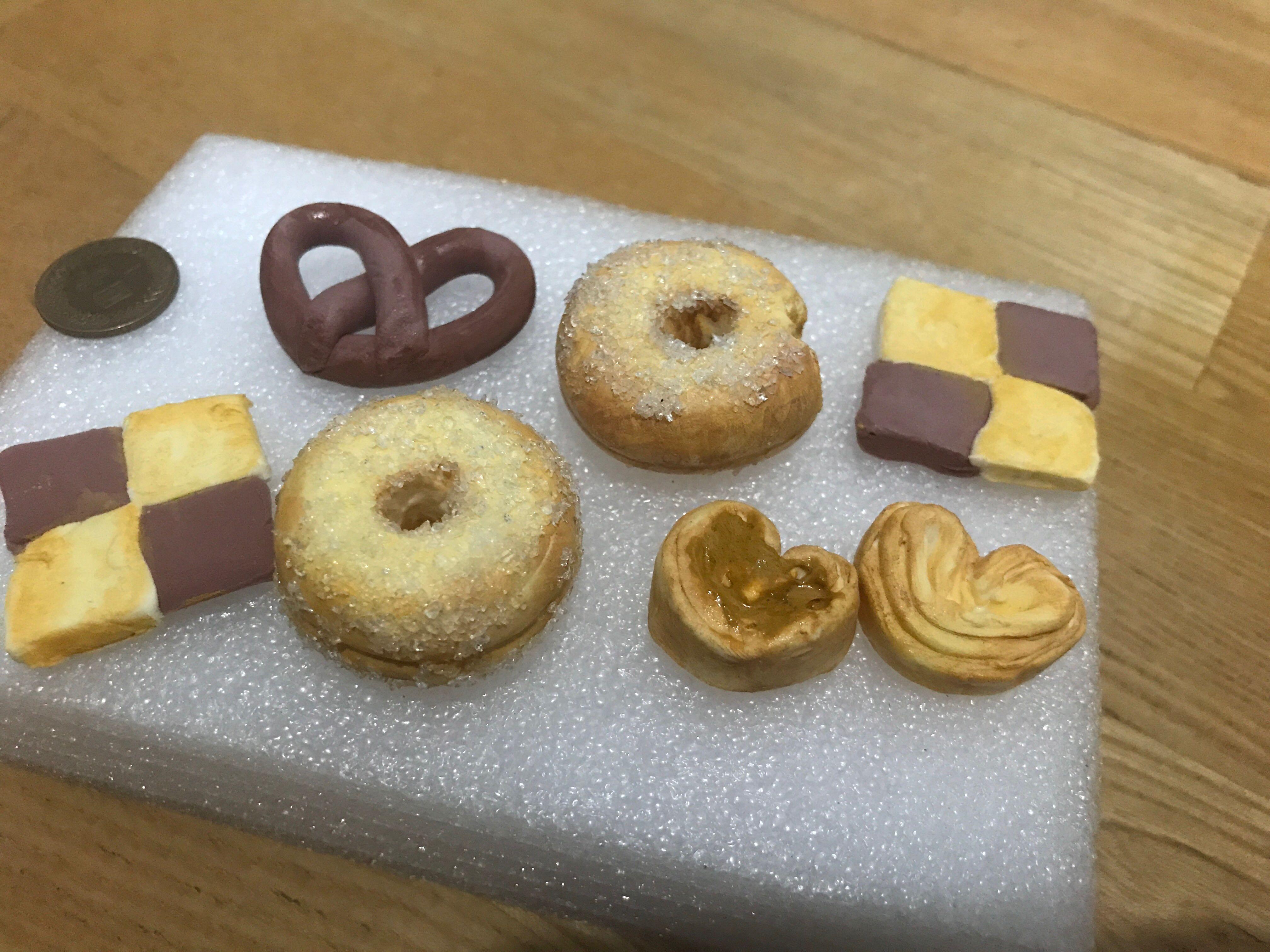(全)黏土食物 仿甜甜圈 仿餅乾