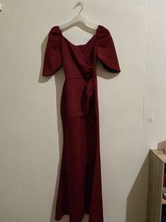 Apartment 8 Red Gown