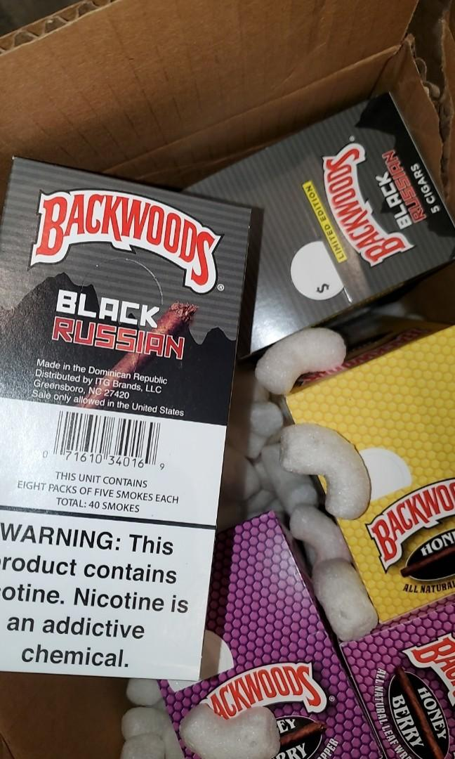 Backwoods (also do cartons)