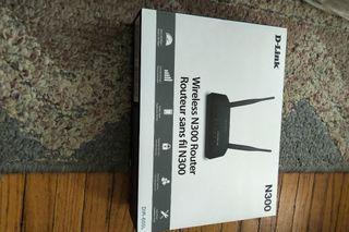 BN DLink wireless N300 router