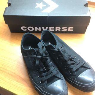 Converse 黑 /全新 /23.5cm/4.5US