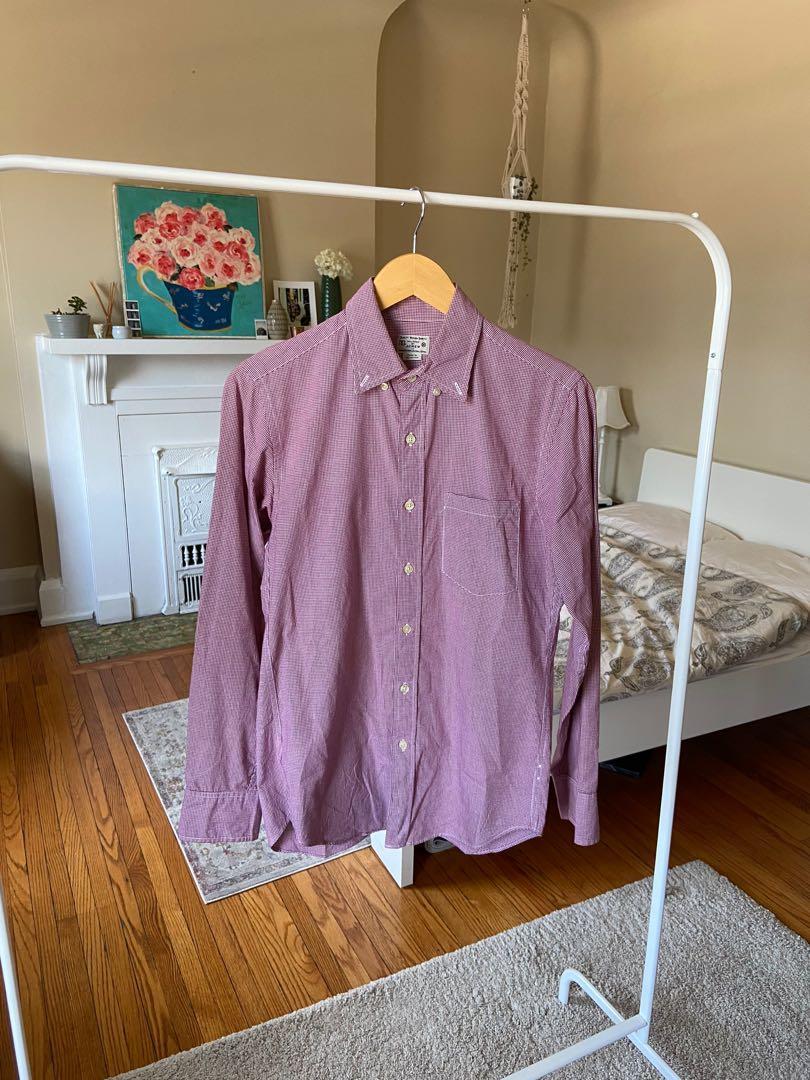 J Crew Small-Checkered Button Up Shirt