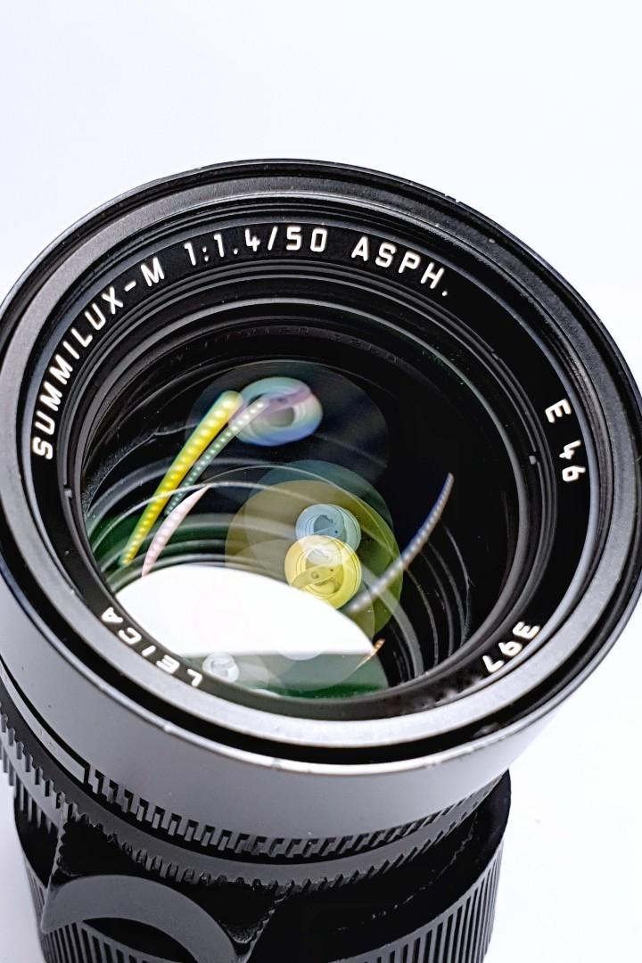Leica 50mm f1.4 Summilux ASPH - fits Zeiss Voigtlander Rangefinder Cameras; Sony E Nikon Z Canon EOS R Fuji X mounts with an adapter