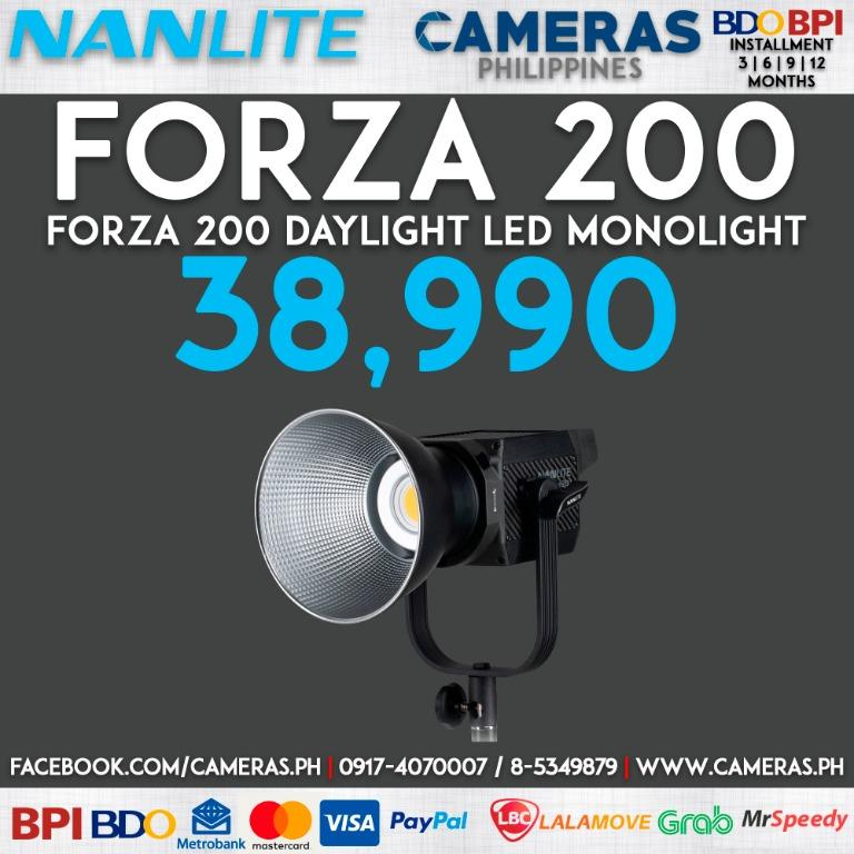 Nanlite Forza 200 Daylight LED Monolight | Credit Card | Installment | Cash | Cameras Philippines