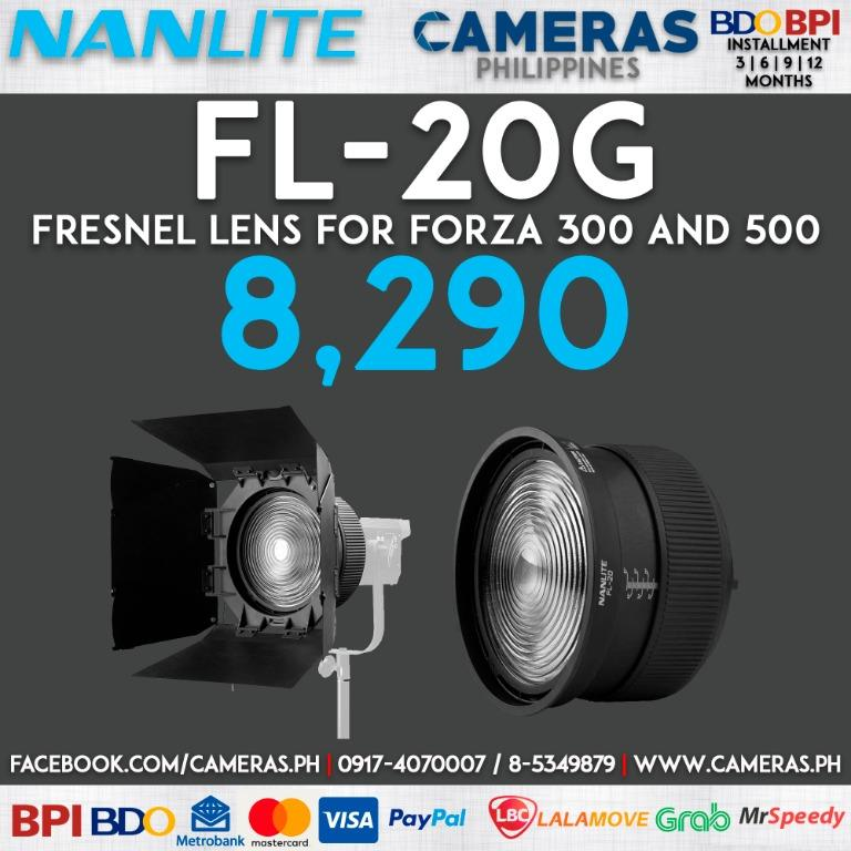 Nanlite Fresnel Lens for Forza 300 and 500 | Credit Card | Installment | Cash | Cameras Philippines