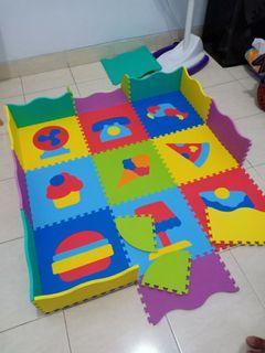 Playmat Puzzle Edumat Play Mats Set