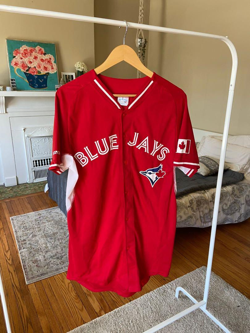 Toronto Blue Jays Red Canada Day Baseball Jersey