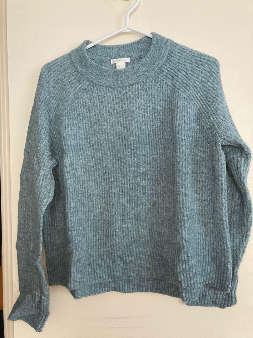 Women's H&M mock neck sweater, size M