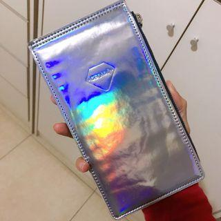 夢幻鐳射光長夾皮夾卡片夾