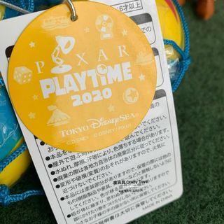 東京迪士尼海洋 2020 playtime 皮克斯球 紓壓玩具 收藏 日本 樂園限定