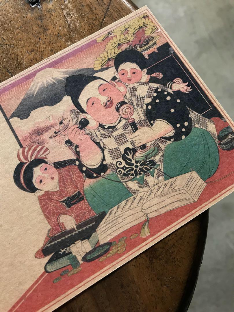 近江八幡 明信片-紅歀