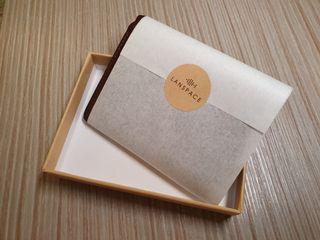 皮夾 短夾 錢包 附精緻盒子