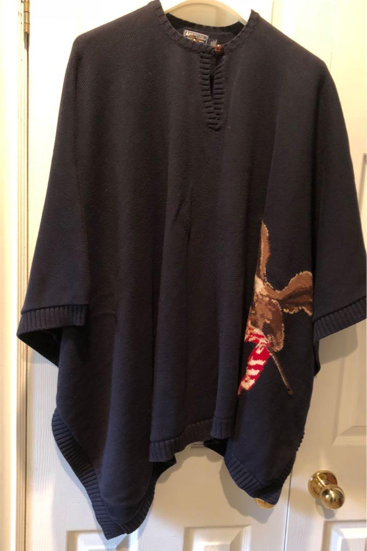 American Living Ladies Poncho