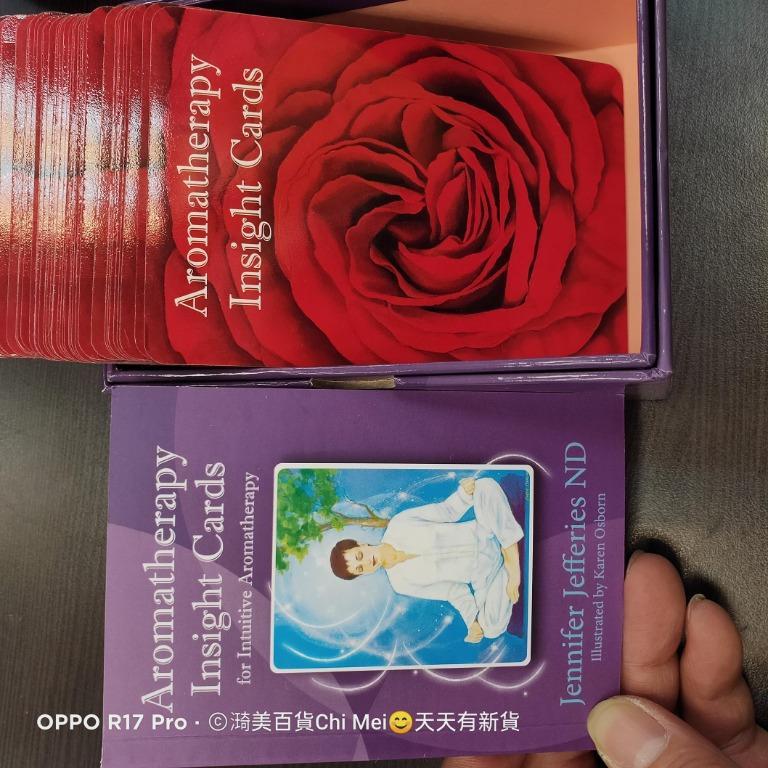 盒裝-二手精油洞悉卡aromatherapy insight cards沒中文少1張