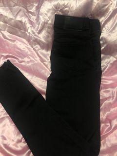Black True religion women's jeans