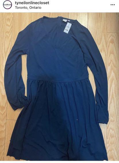 Blue dress size m
