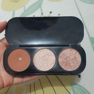 Focallure blush highlighter pan 02 face palette