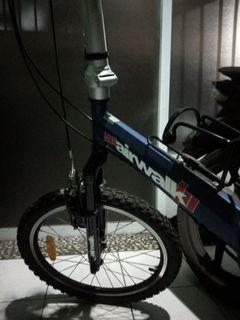 Jual Sepeda Lipat ACE AIRWALK BLUE 2nd Perfect Condition