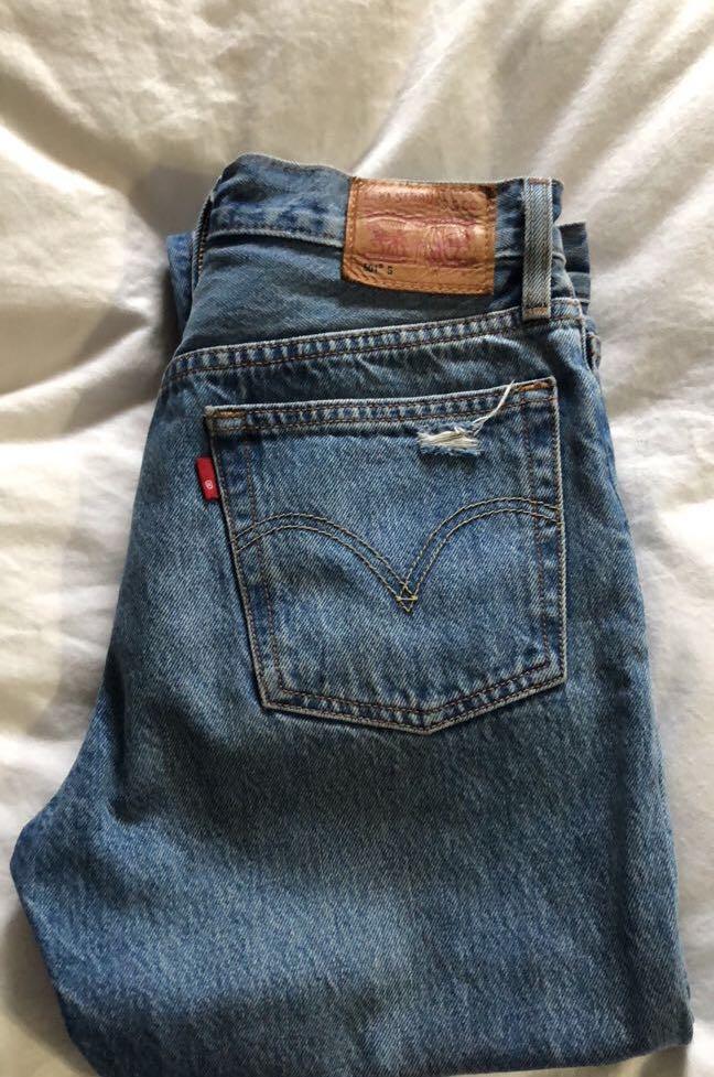 Levi's Vintage Mom Jeans Blue Denim